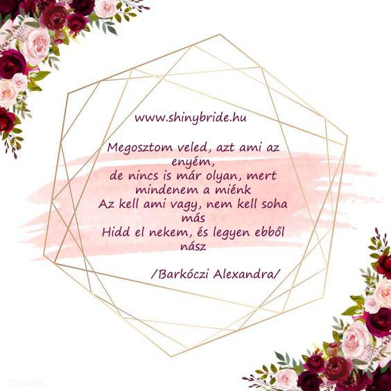 Esküvői meghívó és fogadalom szövegek